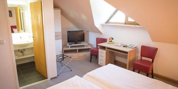 Hotel Baggernpuhl in Nauen - Ansicht der Zimmer