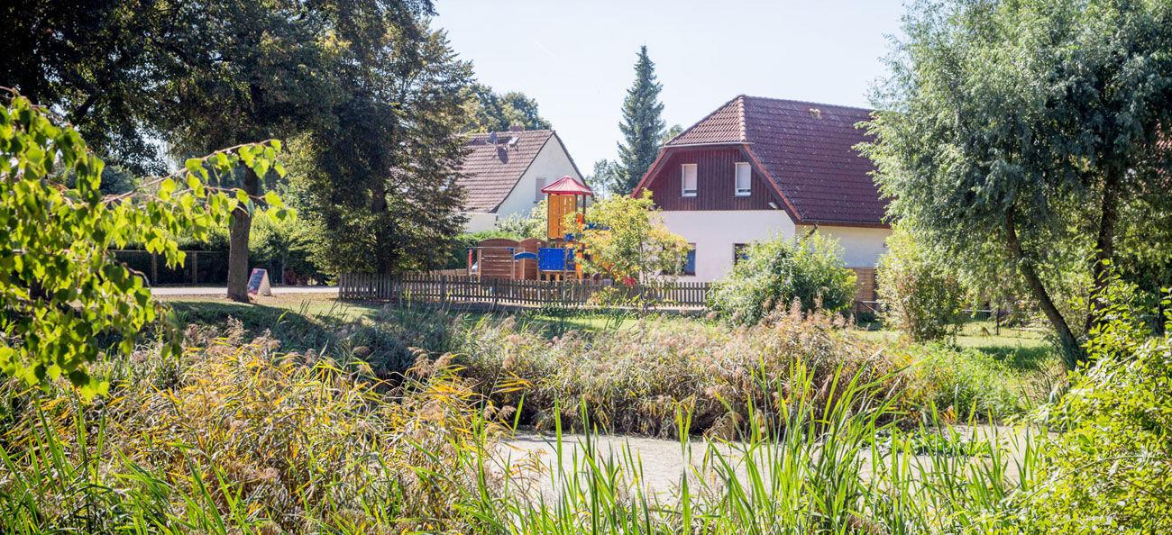 Urlaub in Brandenburg - Landhotel Baggernpuhl in Wachow - nähe Nauen